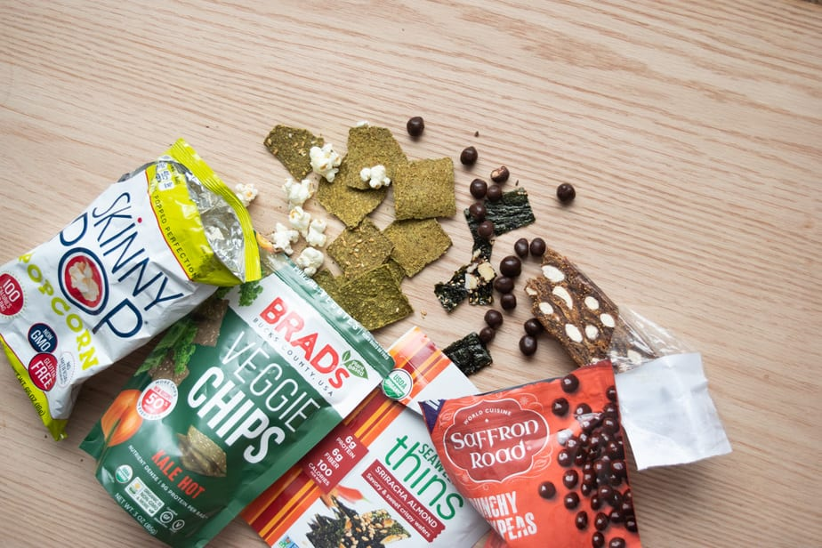 Collations Whole Foods Chocolat aux pois chiches et chips de Kale | www.cuisinedopamine.com