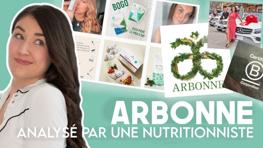 Analyse de nutritionniste Arbonne | Comment ça fonctionne?